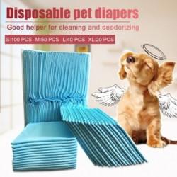 100 db választható méretű kisállat pelenka kisállat kutya szuper abszorbens kutya edzőpad antibakteriális dezodor