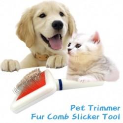 Többcélú tűs fésű kutya macska háziállatok számára. Fésű ecset kutya szőr eltávolítóhoz