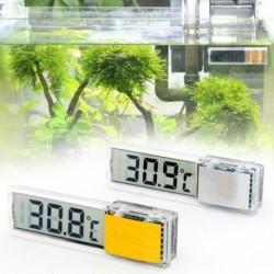 Többfunkciós LCD 3D digitális elektronikus hőmérsékletmérés haltartály hőmérővel