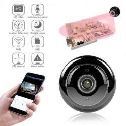 IP kamera Mini Wifi IP kamera HD vezeték nélküli beltéri kamera éjszakai nézet Kétutas audio mozgásérzékelő