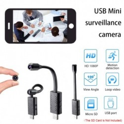 U11 Mini kamera HD 1080P videó felvevő Digitális kamera Mikrokamera Mozgásérzékelő DV Rejtett TF
