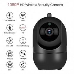 WiFi baba monitor IP kamera 1080P HD videó Nanny Cam baba kamera éjjellátó videó megfigyelő CCTV kamera