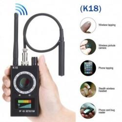 K18 1MHz-6,5 GHz többfunkciós érzékelő kamera GSM audió hibakereső GPS jel lencse RF tracker detektor kereső rádió