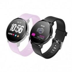 V11 Smart Watch edzett üveg Activity Fitness tracker sport intelligens óra IP67 vízálló pulzusmérő