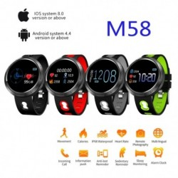 Smart Watch fitness tracker Watch Health pulzusszám sáv vérnyomás vízálló intelligens karkötő férfiaknak nőknek