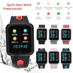 Sportos intelligens karóra fitness karkötő-aktivitásmérő pulzusmérő vérnyomásmérő iOS Android-hoz