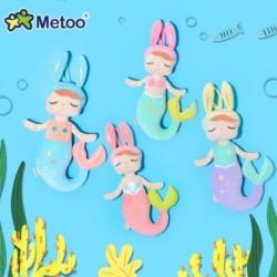 38 cm-es Metoo plüss játékok Angela sellő babák álmodozó lány plüss nyúl kitömött ajándék játékok gyerekeknek