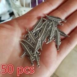 150db Charms tibeti ezüst toll medál fülbevalókhoz - DIY ékszerkészítés