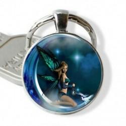 Phoenix Moon tündér manó, karácsonyi ajándék, tibeti ezüst medál kulcstartó ékszerek