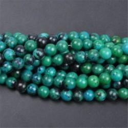 Phoenix Lapis Lazuli - Természetes drágakő kerek kő laza gyöngyök tétel 4mm 6mm 8mm 10mm barkács ékszerek készítése