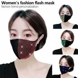 szikrázó szájmaszk party maszk éjszakai klub divat dekoratív arcvédő nőknek és lányoknak