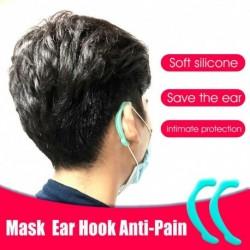 1 pár puha szilikon fülhorog maszk szivárgásgátló