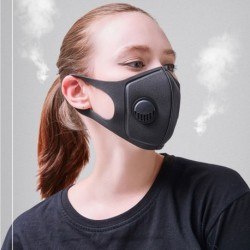 katonai szintű légszennyeződés- és füstszennyeződés-védő maszk állítható hevederekkel és mosható