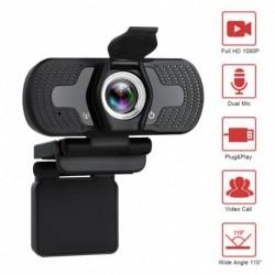 1080P HD webkamera zajcsökkentő mikrofon kamerákkal az élő közvetített videohívások konferencia munkájához