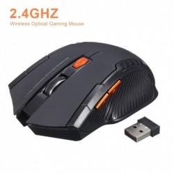 2,4 GHzes vezeték nélküli egér Új játék vezeték nélküli optikai egerek USBvevővel Mause PC laptophoz