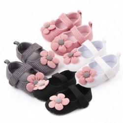 2020 új virág babacipő csecsemő újszülött kislány puha talpú kiságy cipő virág pamut Prewalker cipő 061218 hónap