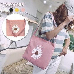 2020 női divat nagy kapacitású virágvászon válltáska sokoldalú kis százszorszép messenger táska