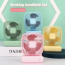 3 sebességes USB újratölthető asztali / asztali ventilátor állítható irodai otthoni kézi ventilátor
