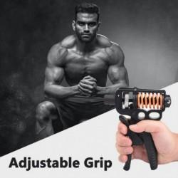 5KG50KG állítható ellenállású kézi markolat erősítő alkar rugós edző kézcsukló és ujj erőgyakorló markoló