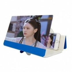 8 hüvelykes 5Ds képernyőerősítő Összecsukható bőr mobiltelefon nagyító HD állvány Videóerősítő telefon