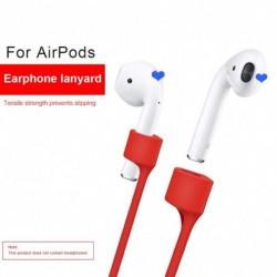 Elveszett szilikon fülhallgató kötéltartó kábel az AirPodokhoz AirPods Pro vezeték nélküli Bluetooth fejhallgató