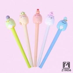 Aranyos Sumikko Gurashi gél toll 0,5 mmes kreatív scrapbook toll írószer ajándék iskolai irodai kellékek