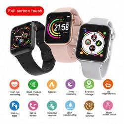 F10 intelligens óra teljes érintőképernyős pulzusszámú vérnyomás sport fitnesz Apple IOS Android PK W98 T500hoz