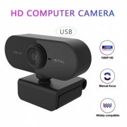 Full HD 1080P webkamera USB mini számítógép kamera Beépített mikrofon laptop asztali webkamerájához