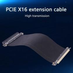 Grafikus hosszabbító kábel PCIE 16X rugalmas kábel hosszabbító port adapter 5/10/15/25 cmes soros PC grafikus