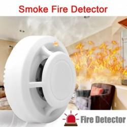 High Senstive füst tűzérzékelő független riasztásbiztonság vezeték nélküli tűzérzékelő füstjelző LED