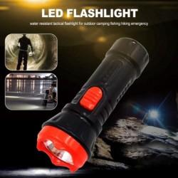 LED zseblámpa újratölthető, magas fénymennyiségű kézilámpa 2 üzemmóddal, vízálló taktikai zseblámpa szabadtéri