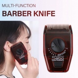 Kézi hajvágó többfunkciós izzadságtemplomok fodrász késfésű hordozható állítható vékonyodó fodrászat