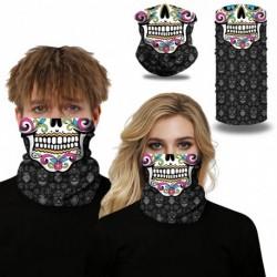 Férfi koponya digitális nyomtatás  mágikus sál kültéri kerékpáros maszk nyak póló fejfedő