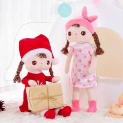 Metoo Christmas Angela plüss játék gyerek Angela nyúl baba gyerek lány születésnapi karácsonyi ajándék karikatúra