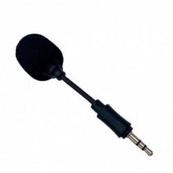 Mini rugalmas mikrofon a telefon 3,5 mmes interfészéhez Mobiltelefon sztereó mikrofon iPhone Android készülékhez