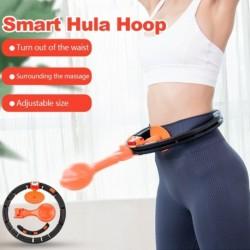 Intelligens Hula karika elektronikus számlálóval, soha nem csöpög Hula Hoop gravitációs labda zsírégető has hasító