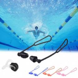 Úszás füldugók vízálló orrcsipesz megakadályozza a vízzaj csökkentését védő füldugó puha szilikon úszás
