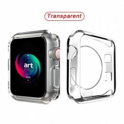 Órafedél karóra Apple Watch 360 Soft Clear TPU képernyővédő tok iWatch sorozathoz 5/4/3/2/1 44MM 40MM 42mm 38MM