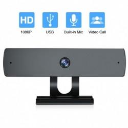 Webkamera mikrofonnal, 1080P HDStreaming számítógép  PChez Laptop videohívások, konferenciák