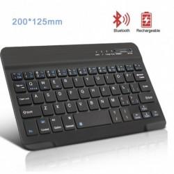 Vezeték nélküli billentyűzet Bluetooth Mini billentyűzet táblagépes laptop telefon újratölthető billentyűzethez