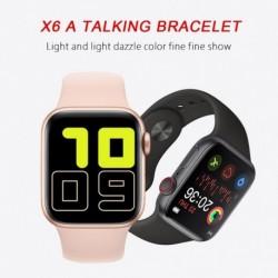"""X6 1,54 """"Full Touch intelligens óra  Bluetooth hívás pulzusmérő Smartwatch PK W34"""