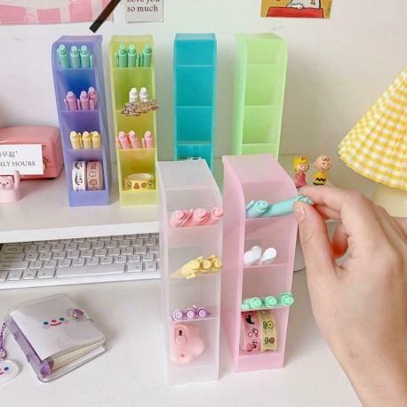 Íróasztal tolltartó ceruza smink tároló doboz Asztali szervező