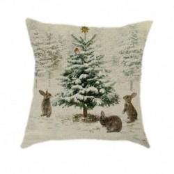 * 14 - 18 hüvelykes karácsonyi párnahuzat térpárna autó kanapé otthoni party dekoráció 2020