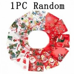 1 db - 10db karácsonyi cukorka sütik géz táska harisnya palack karácsonyi díszek dekoráció forró