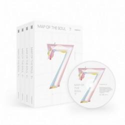 BTS - Map Of The Soul : 7 CD album - KPOP - BTS - Bangtan Boys - 4. verzió - Poszter nélkül
