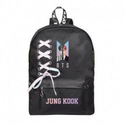 JUNG KOOK - Bangtan Boys J-Hope SUGA V hátizsák válltáska iskolai könyvtáska nyakkendő vászon