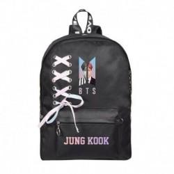 JUNGKOOK - Fekete hátitáska - KPOP - BTS - Bangtan Boys