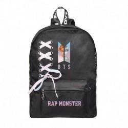 RAP MONSTER - Fekete hátitáska - KPOP - BTS - Bangtan Boys
