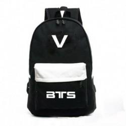 V - Fekete hátitáska - KPOP - BTS - Bangtan Boys