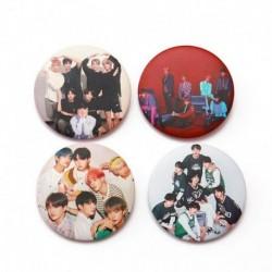 3 - 7db / szett Kpop Bangtan fiúcsapok imádják magad Könnyalbum brossok kitűző
